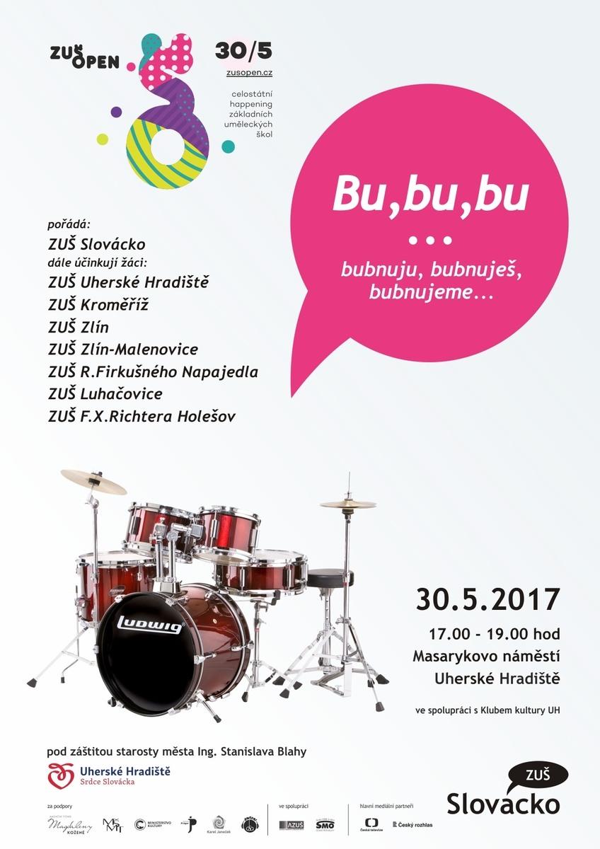 Bu,bu,bu...bubnuju, bubnuješ, bubnujeme...