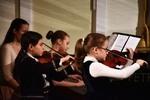 klavírní trio Viktorie Pipalová, Elen Gašparová, Zuzana Presová.