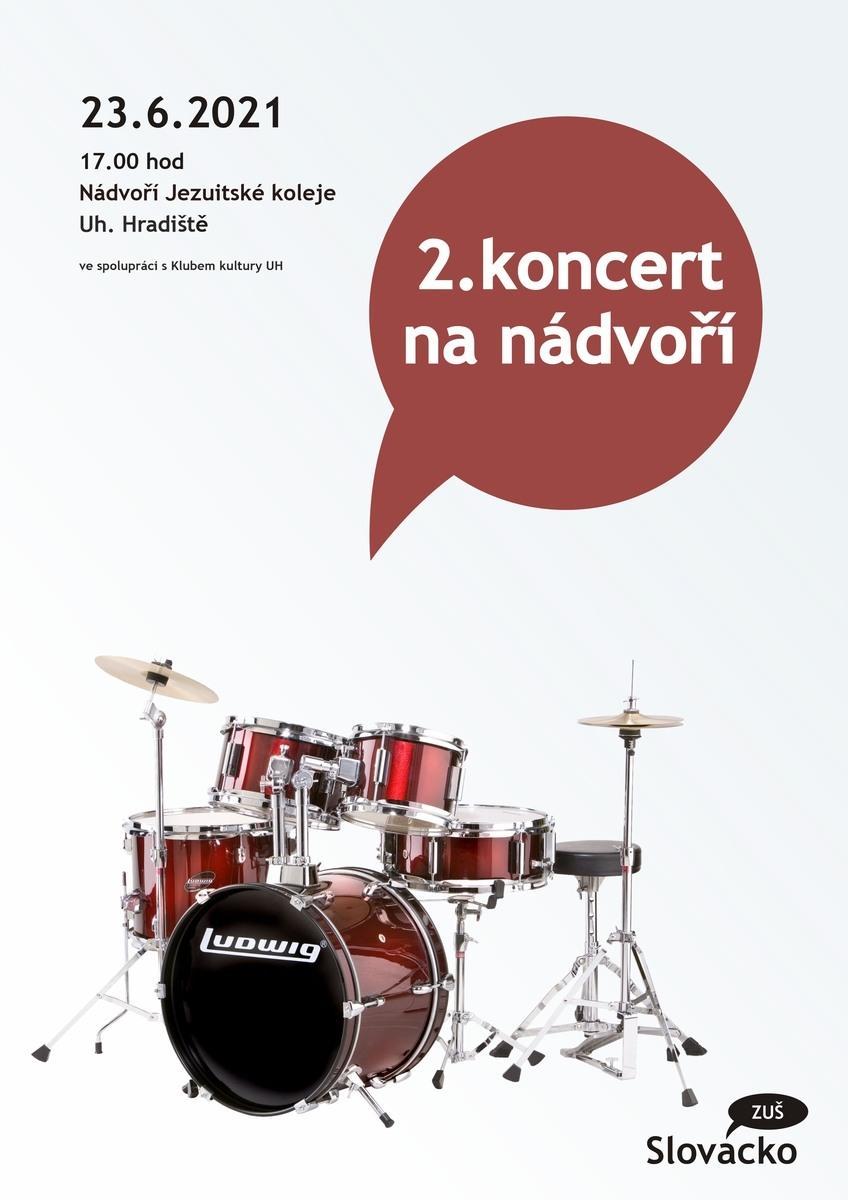 2.koncert na nádvoří