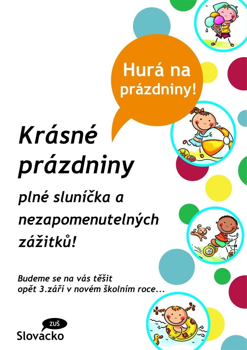 Užijte si prázdniny!!!