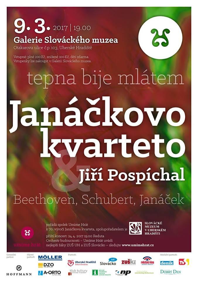 Koncert Janáčkova kvarteta