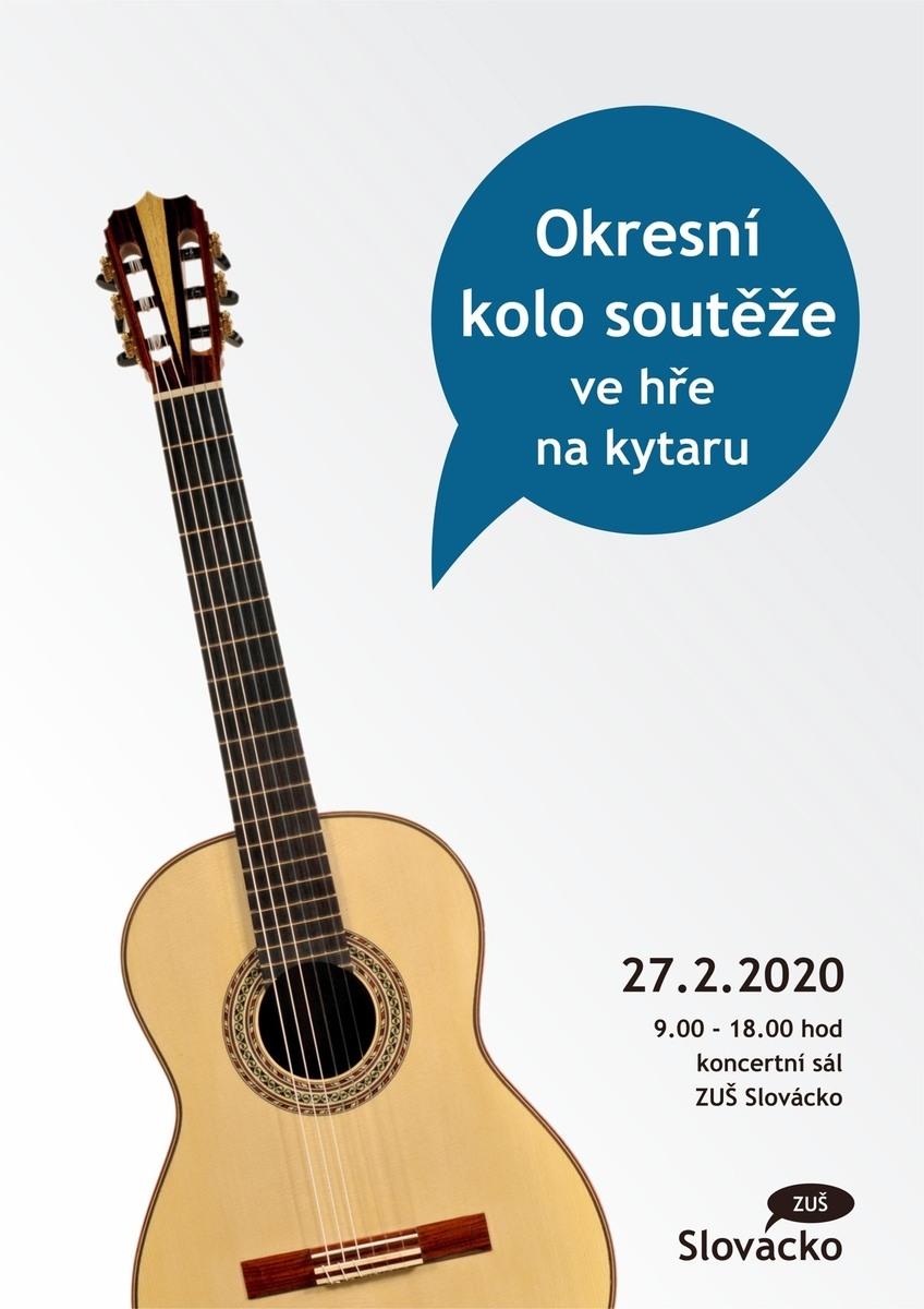 Okresní kolo soutěže ZUŠ ve hře na kytaru
