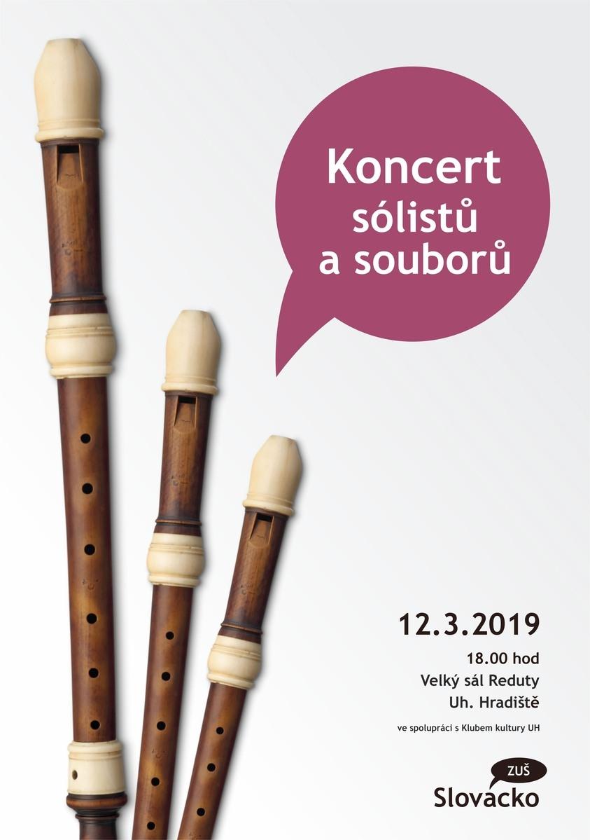 Koncert sólistů a souborů