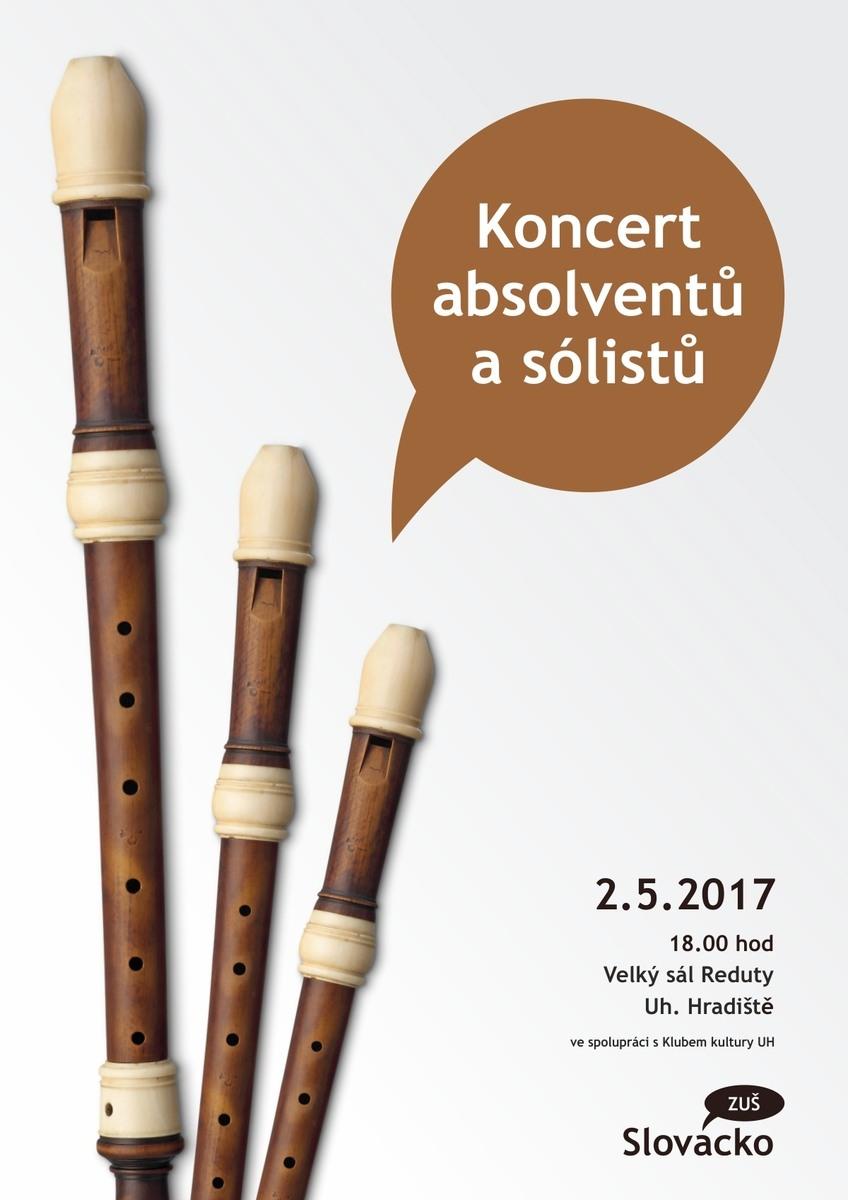 Koncert absolventů a sólistů
