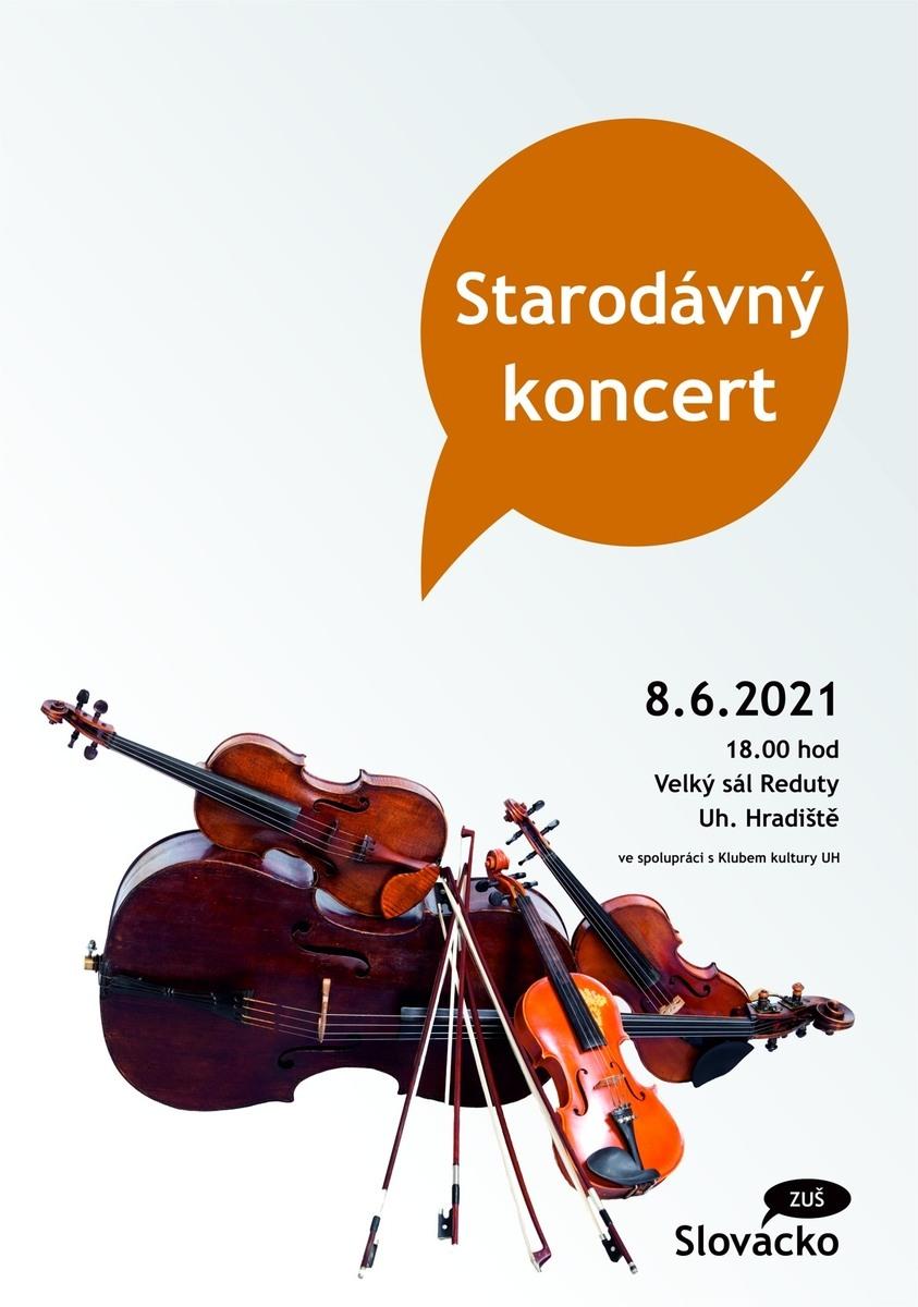 Starodávný koncert 8.6.2021