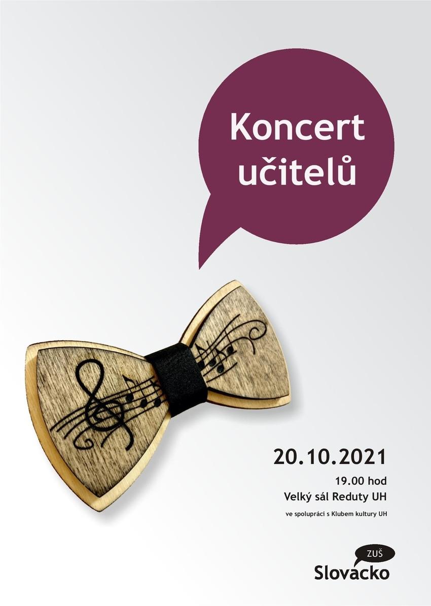 Zveme vás na Koncert učitelů 20.10. od 19 hod v Redutě